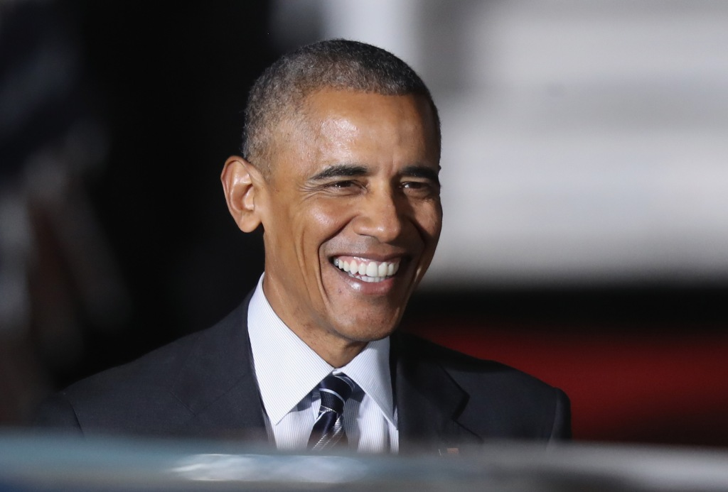 U.S. President Obama Arrives In Berlin