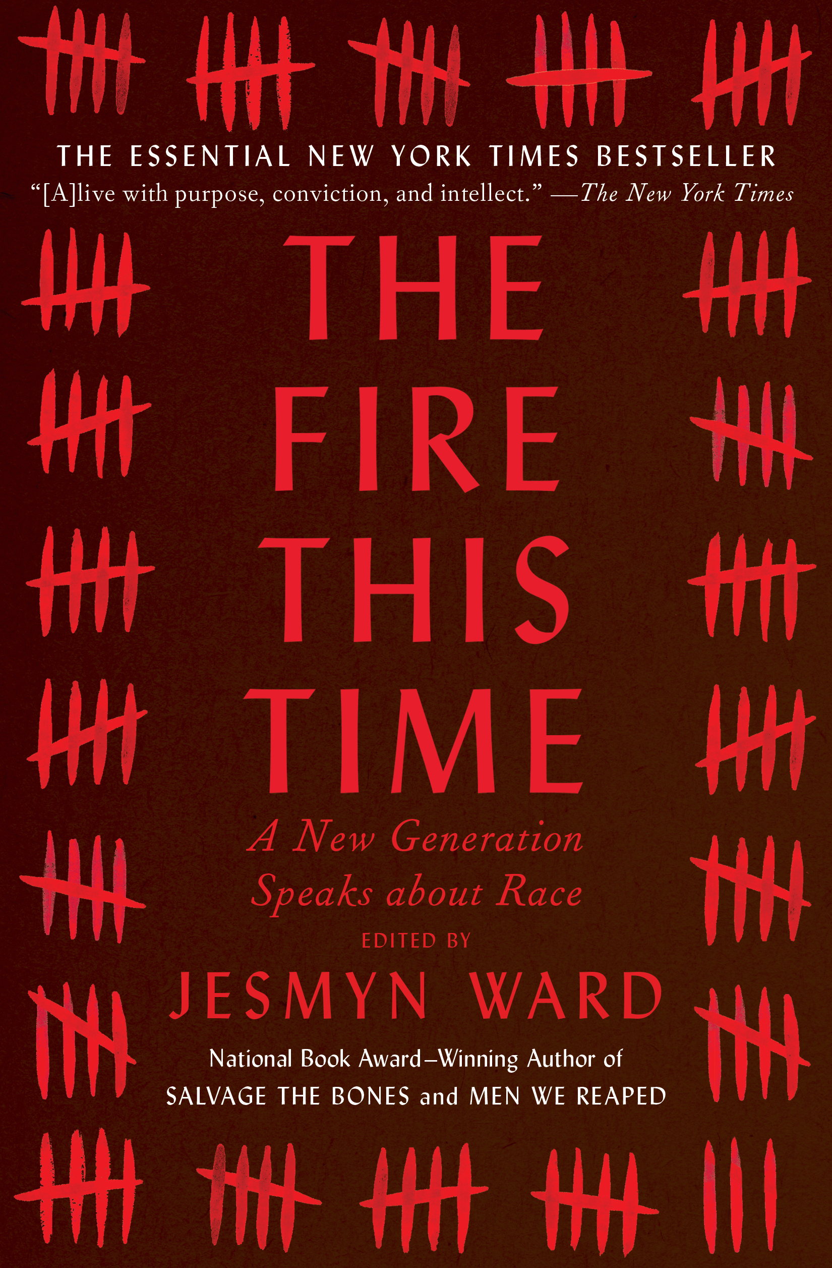 Jesmyn Ward 'The Fire This Time' Book Cover
