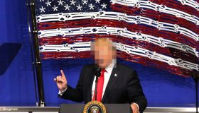 Donald Trump Pixelated