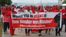 Protest in Abuja for the kidnapped Nigerian girls