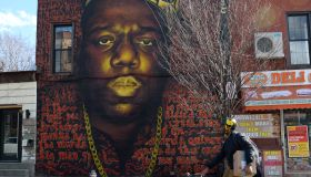 Notorious B.I.G. Mural Being Destroyed By Bed-Stuy Gentrifiers