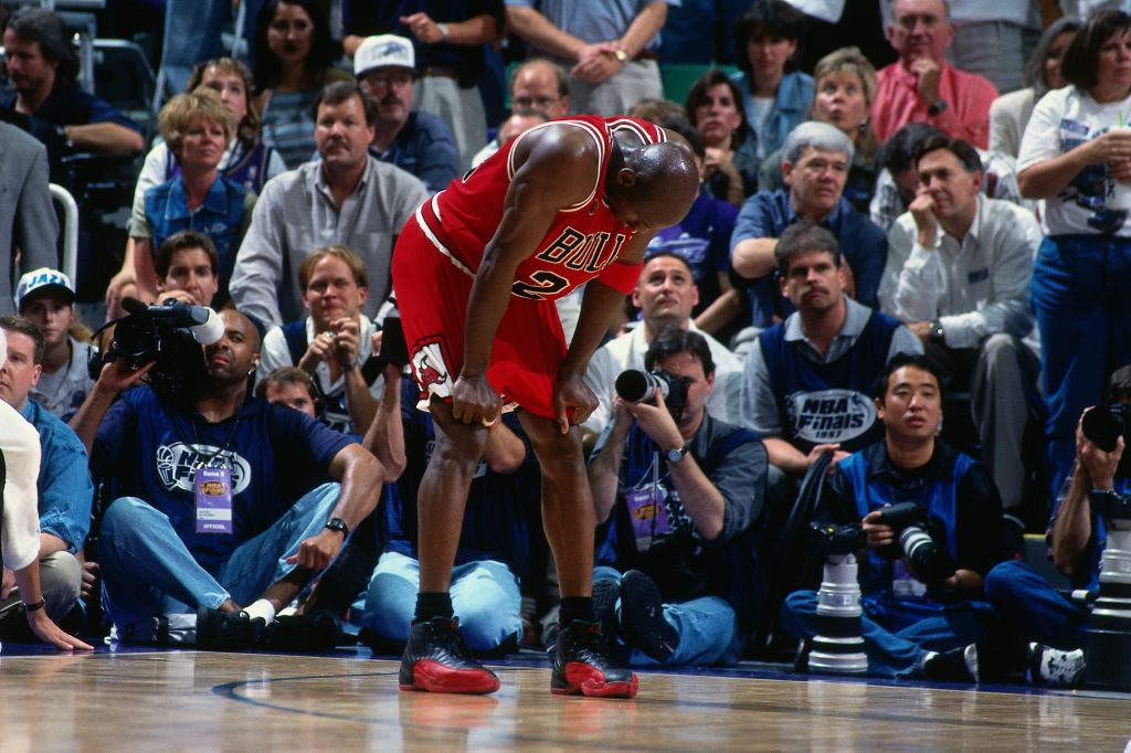 1997 NBA Finals Game Five: Chicago Bulls v Utah Jazz