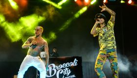 Rae Sremmurd performs at Broccoli City Festival.