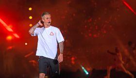 Canadian Pop Singer Justin Bieber Performs In Mumbai