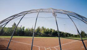 Empty Baseball Field