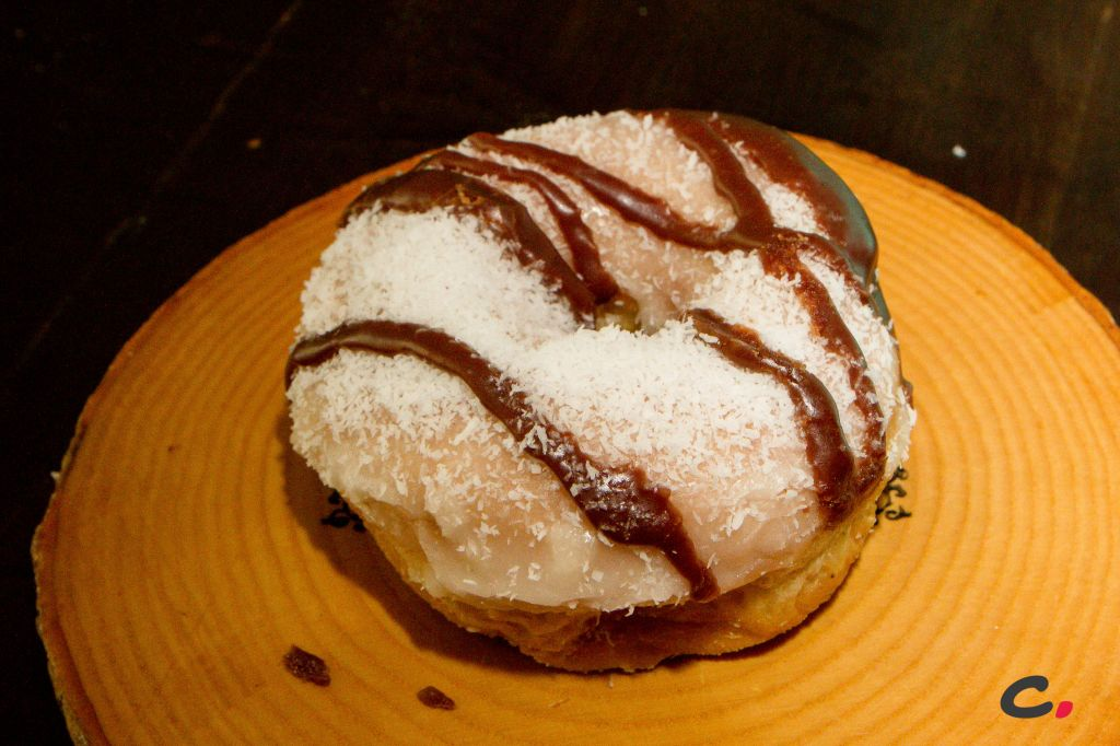 Almond Joy Donut