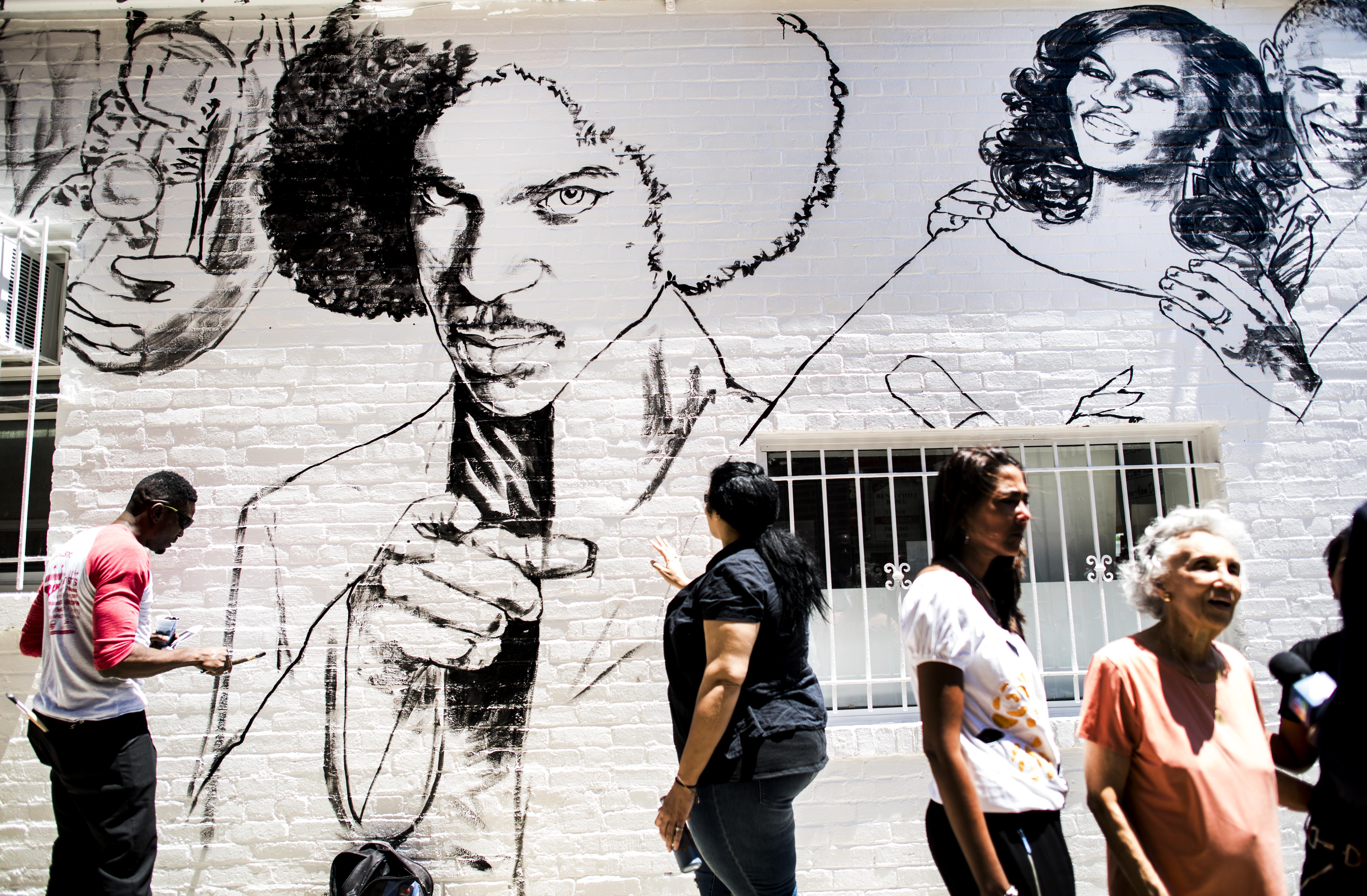 Ben's Chili Bowl mural