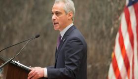 Chicago Mayor Rahm Emanuel Addresses Police Misconduct At Chicago City Council Meeting