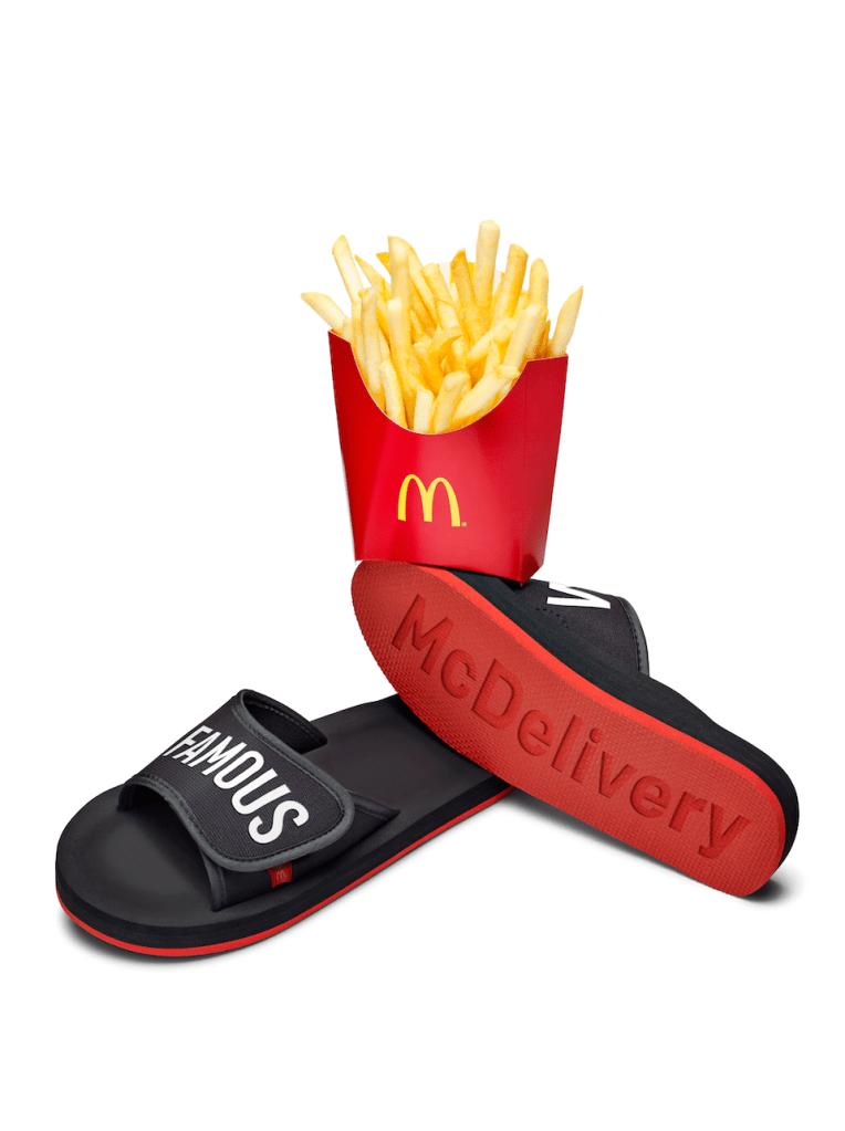 McDonalds McDelivery UberEATS