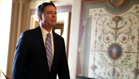 FBI Director James Comey Briefs Senators On Capitol On Intelligence Matters