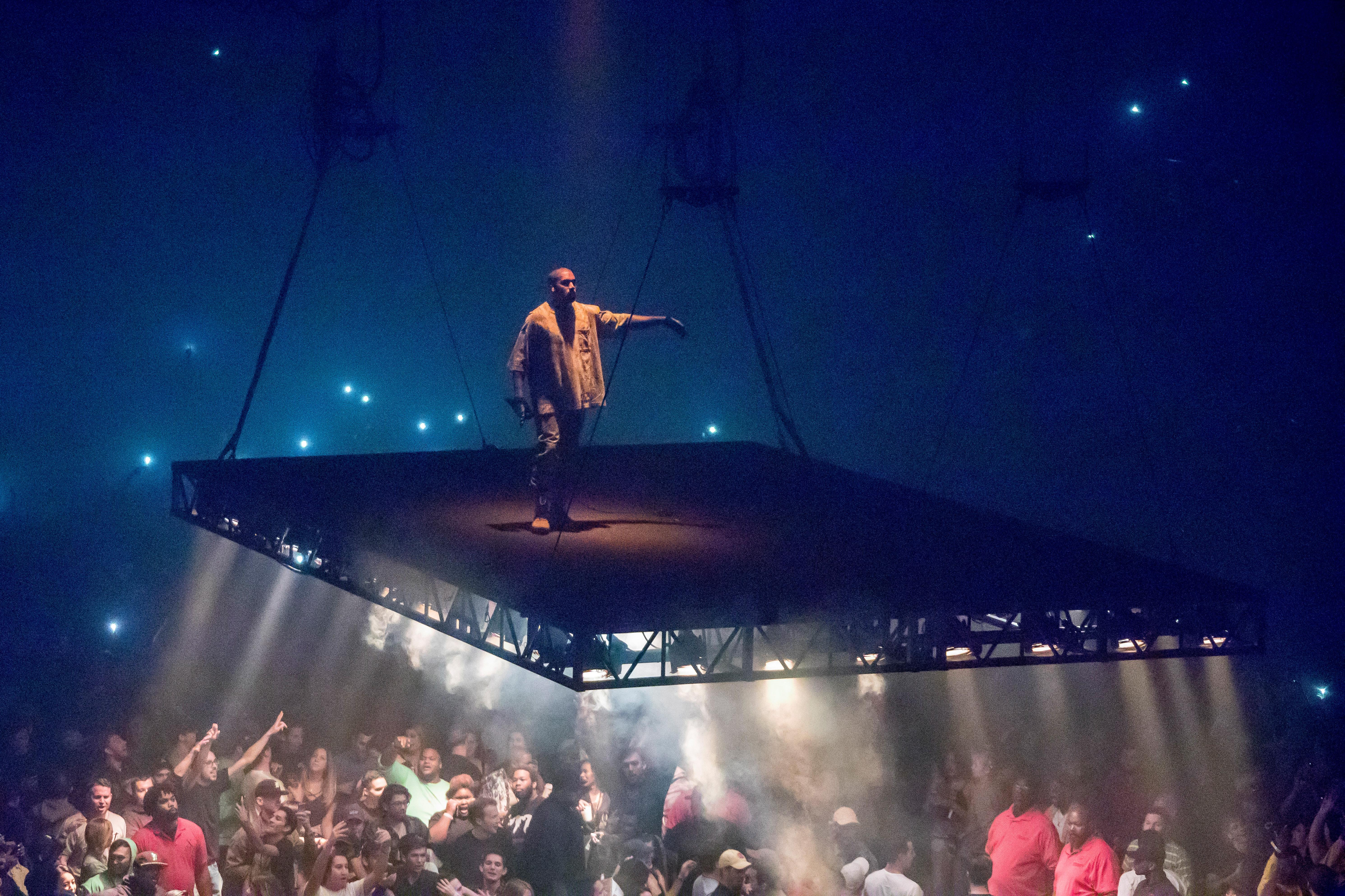 Kanye West In Concert - Detroit, Michigan