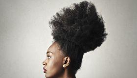 Stylish coiffure