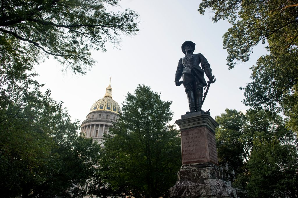 Pleas Grow In West Virginia's Capitol Calling For The Removal Of Stonewall Jackson Monument