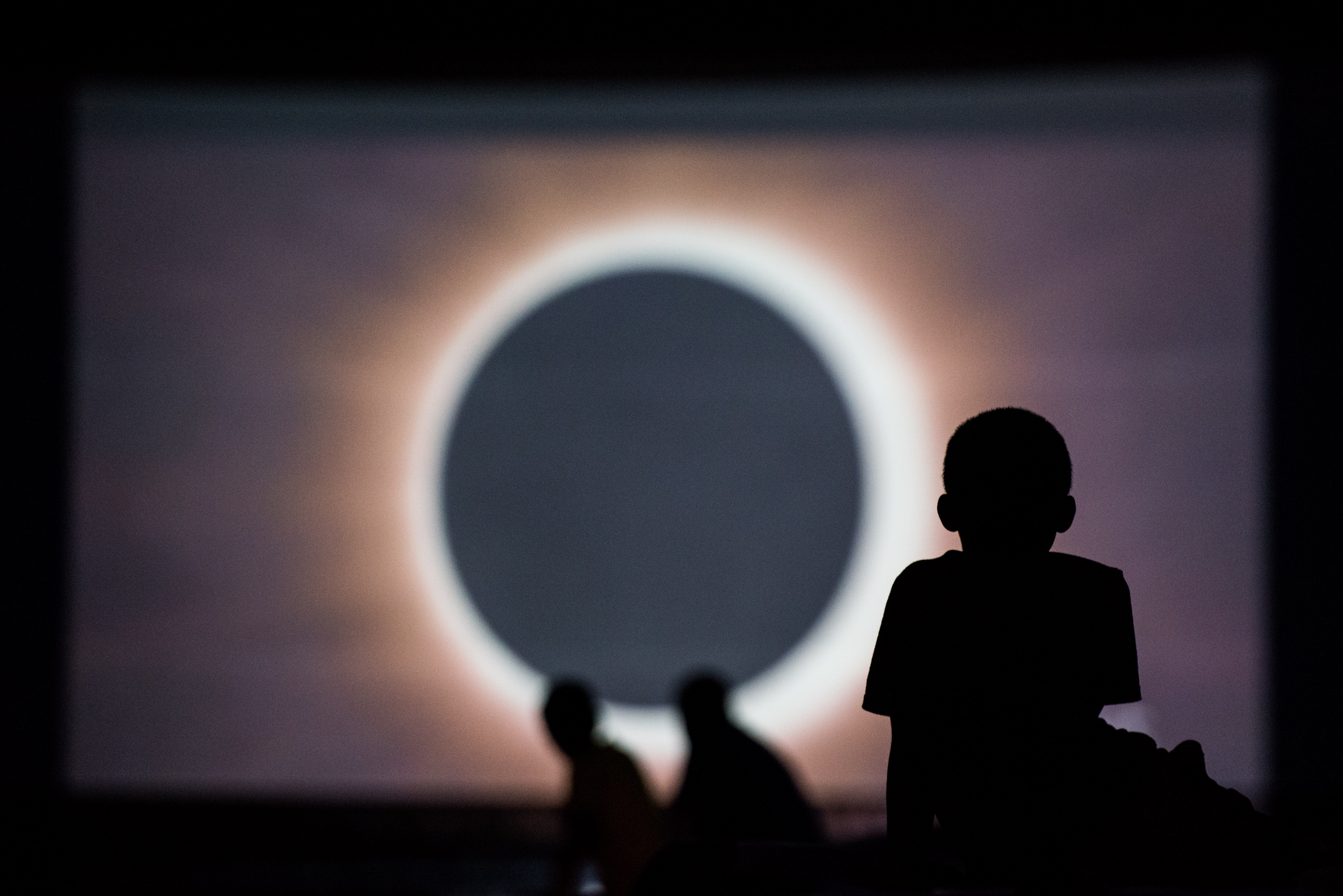 Tourists Flock To South Carolina To See Monday's Eclipse In Full