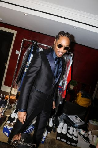 Future Gets Ready For This Year's Costume Institute Gala At The Carlyle Hotel