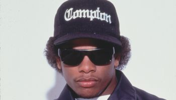 Portrait of Rapper Eazy E