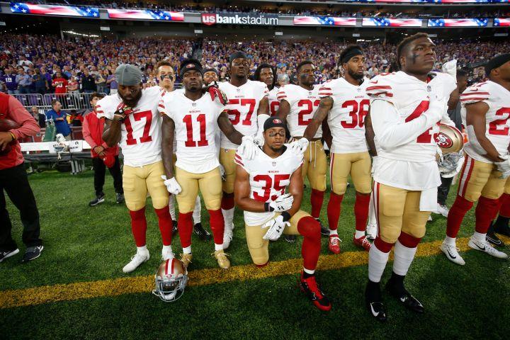 Eric Reid of the San Francisco 49ers