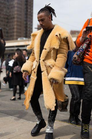 New York Fashion Week - Street Style - Day 6
