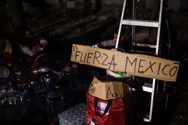 Powerful magnitude 7.1 quake rattles Mexico City