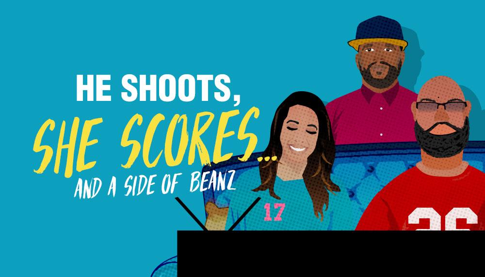 He Shoots She Scores