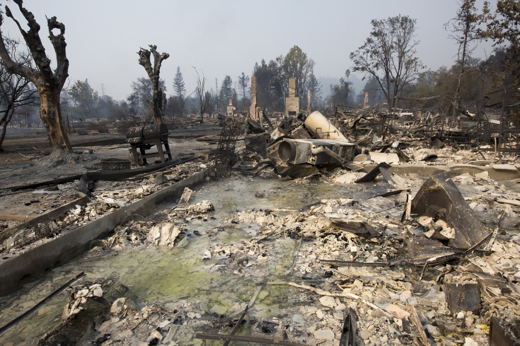 At Least 11 Dead As Multiple Wildfires Burn Through California Wine Country