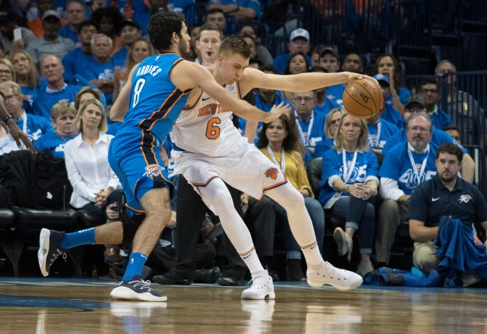 New York Knicks v Oklahoma City Thunder