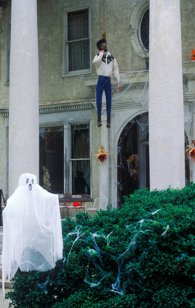 Halloween Decorations, Macon, Georgia