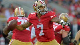 the San Francisco 49ers play the Washington Redskins