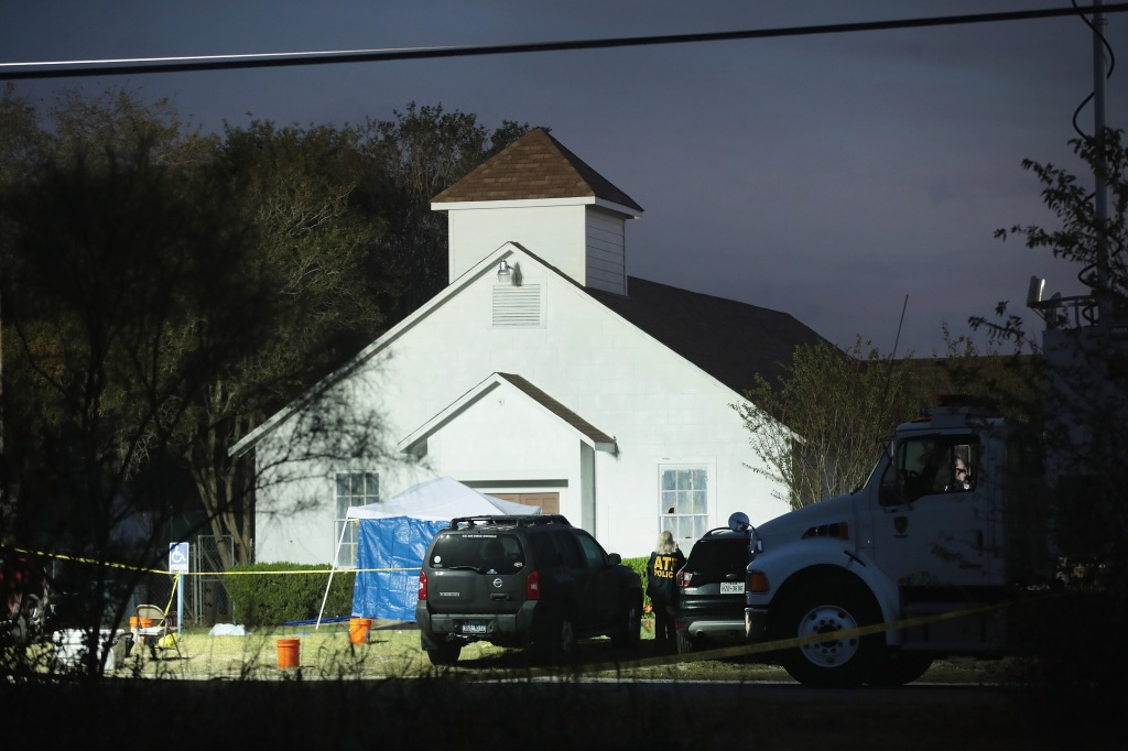 26 People Killed And 20 Injured After Mass Shooting At Texas Church