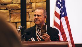 Embattled GOP Senate Candidate Judge Roy Moore Attends Mid-Alabama Republican Club's Veterans Day Event