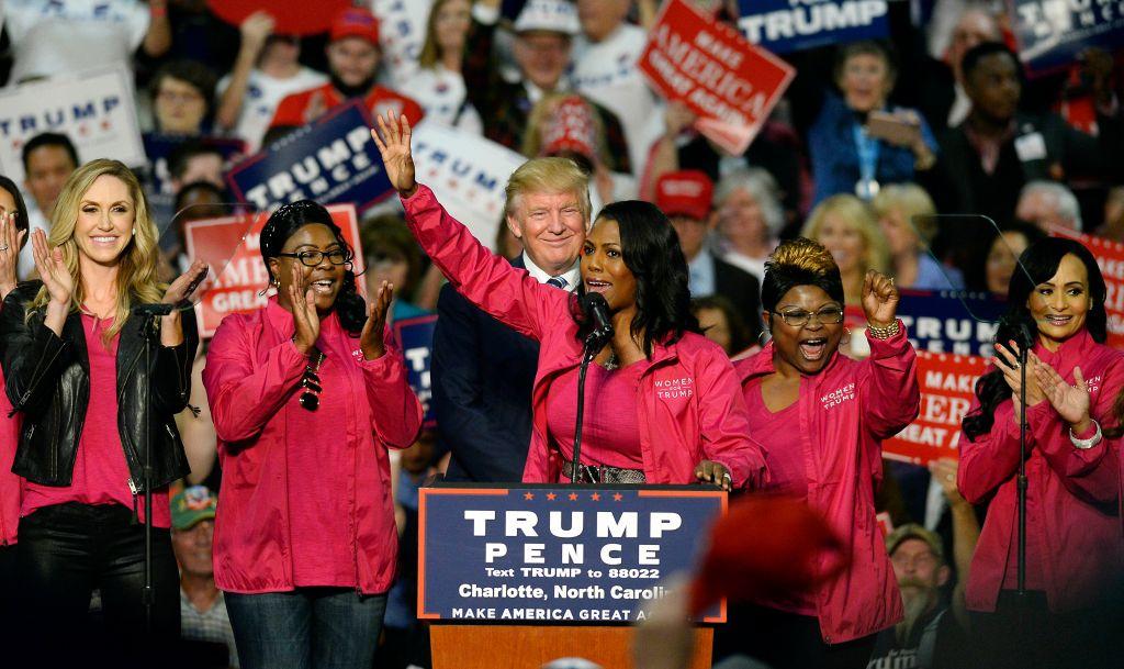 Republican presidential candidate Donald Trump campaigns in Charlotte
