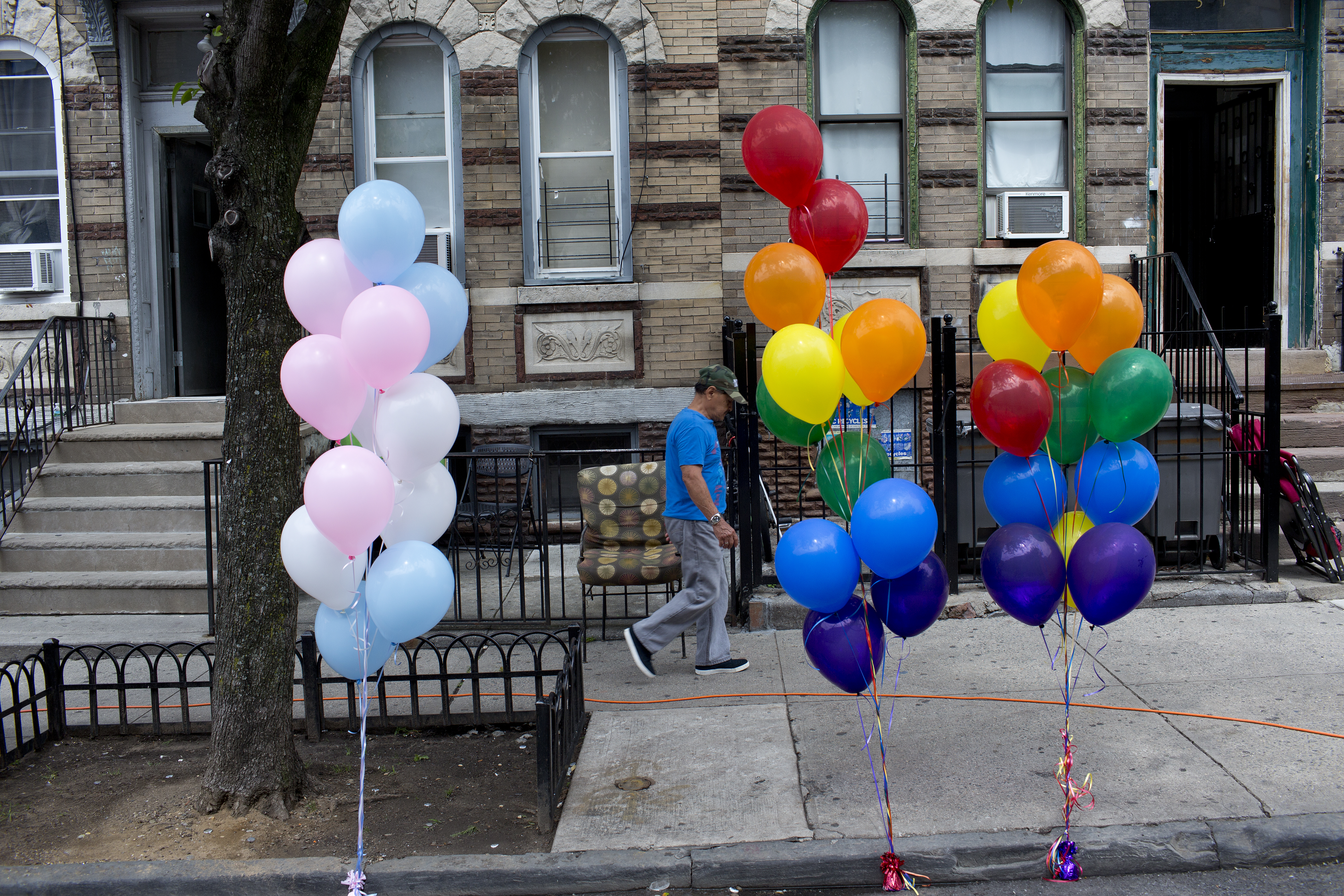 Gay pride in Bushwick, Brooklyn