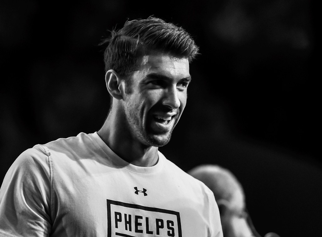 Michael Phelps Visits Argentina