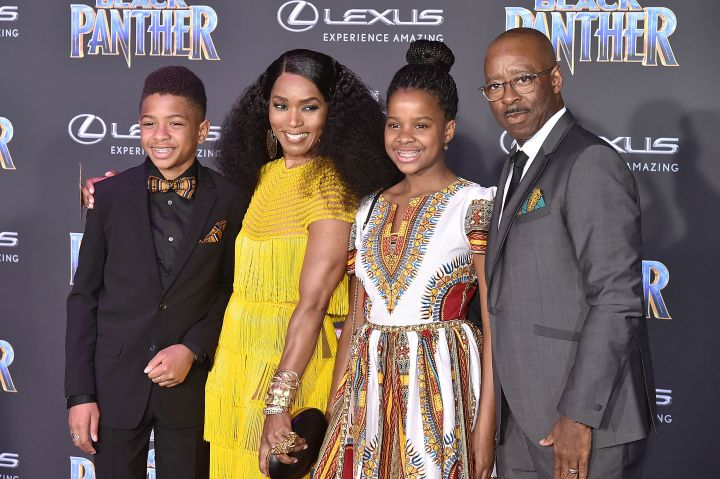 Slater Vance, Angela Bassett, Bronwyn Vance, and Courtney B. Vance