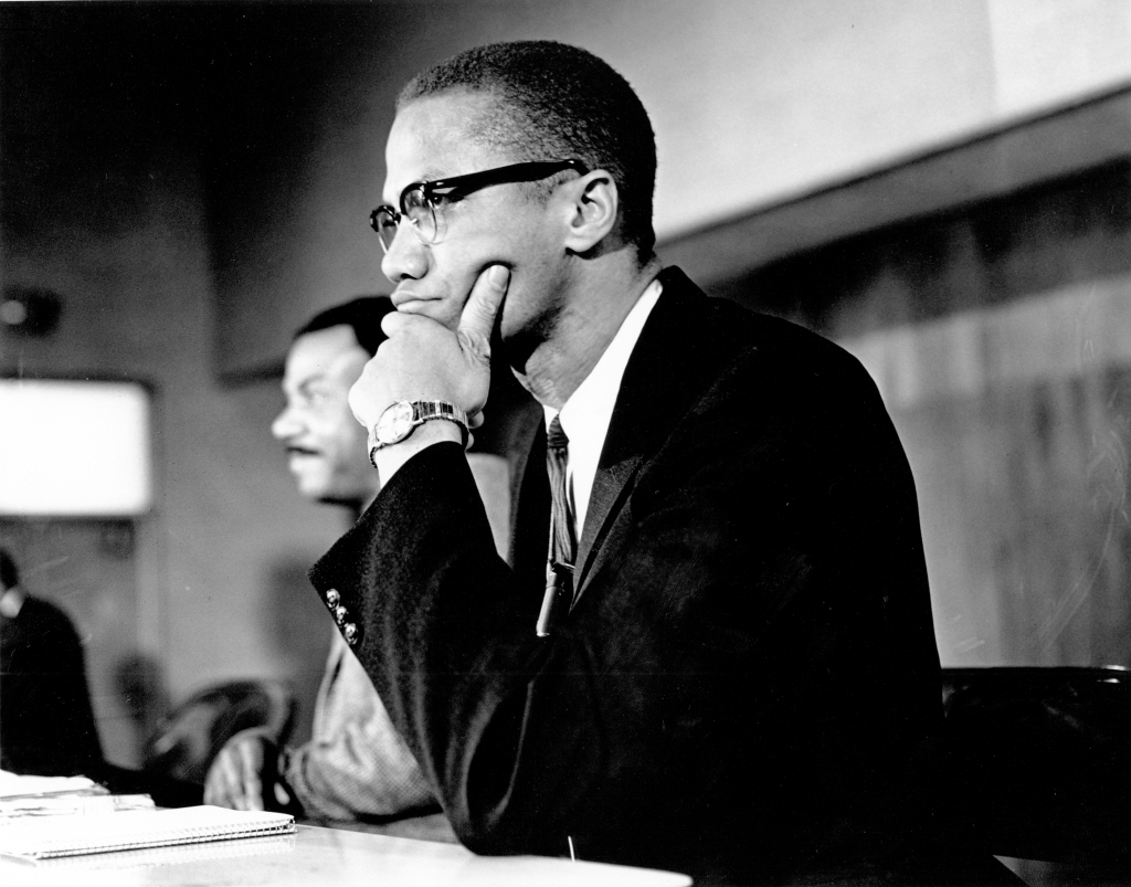 Photo of Malcolm X