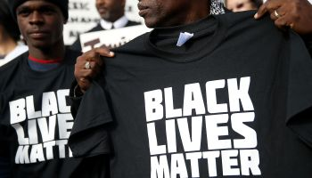 San Francisco Public Attorneys Hold 'Hands Up, Don't Shoot' Demonstration