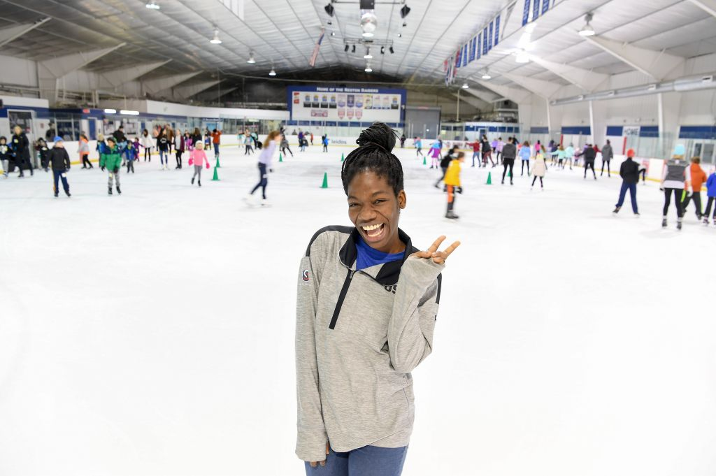 Maame Biney, 17-year old short track speed skater from Reston has qualified for the Olympics. She's originally from Ghana, which makes her an unusual fit with speed skating. Also, she's the first African American female to ever make the Olympic team.