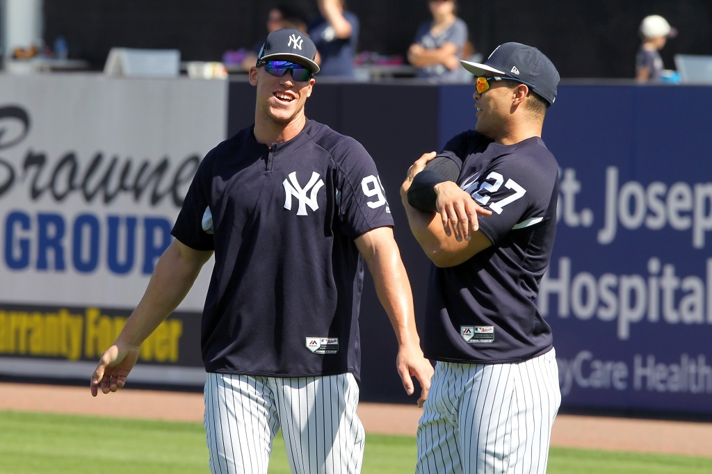MLB: FEB 19 Spring Training - Yankees Workout