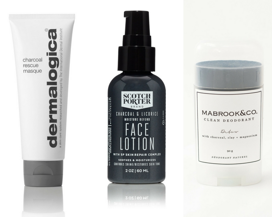 Charcoal Grooming Products