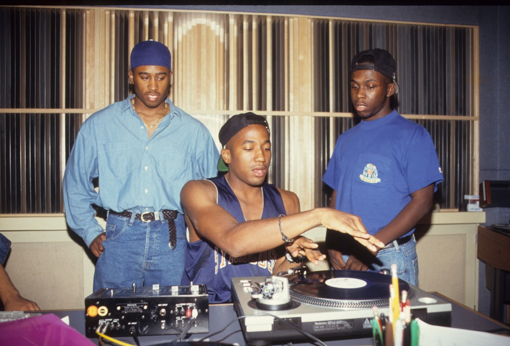A Tribe Called Quest In The Studio