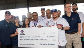 Boston Red Sox Hurricane Relief Trip