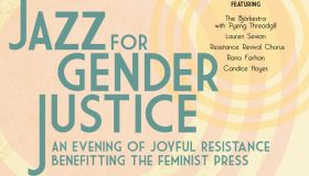 Jazz for Gender Justice Flyer