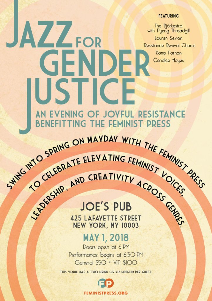 Jazz for Gender Justice Flyer