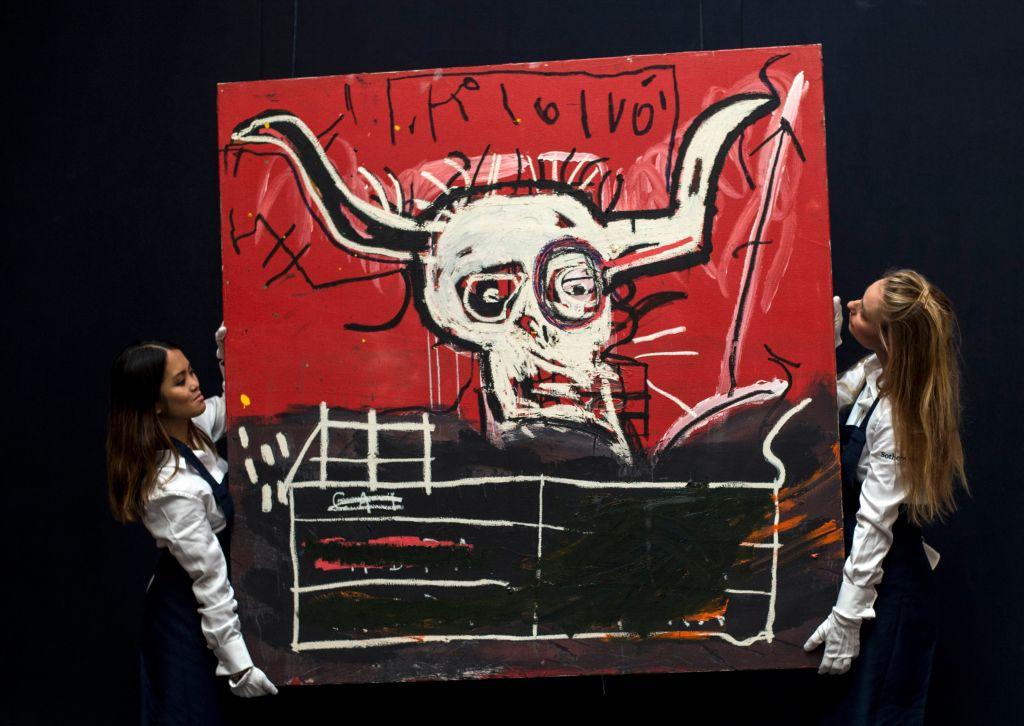 Modern art in New York sale