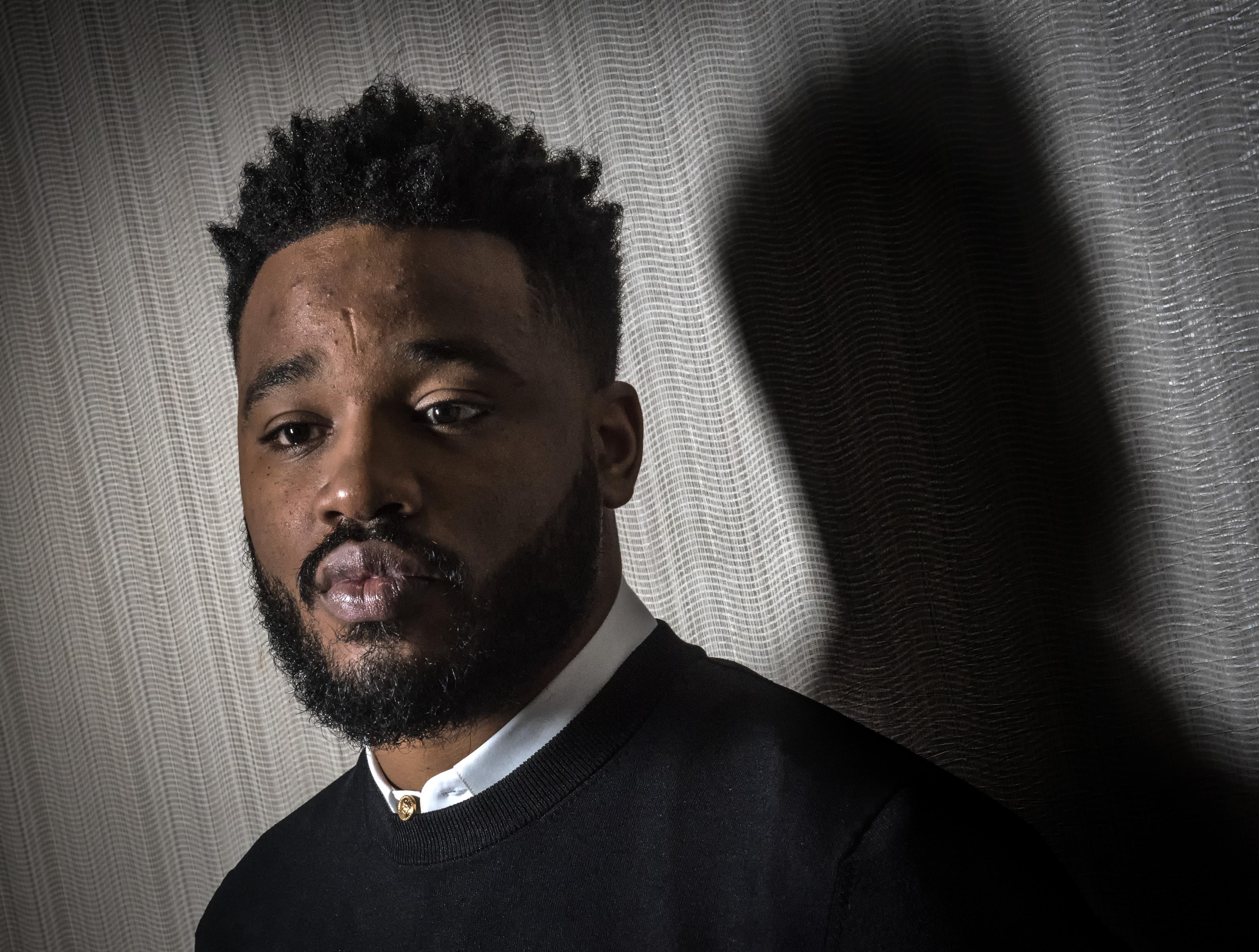 Ryan Coogler, director of the hit movie 'Black Panther', in Washington, DC.