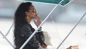 Rihanna Sightings In Portofino - July 28, 2012