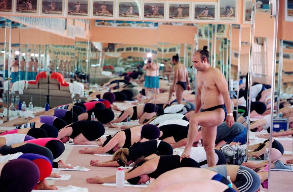 Bikram Choudhury Teaches Yoga Class