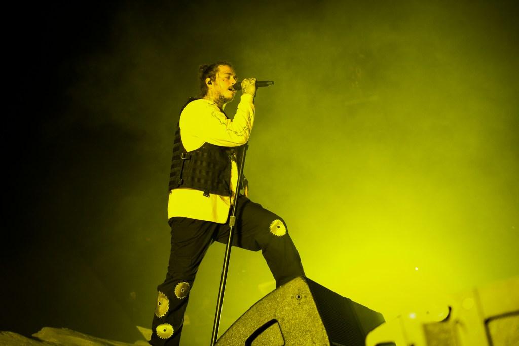 Post Malone Performs At Veterans Memorial Coliseum
