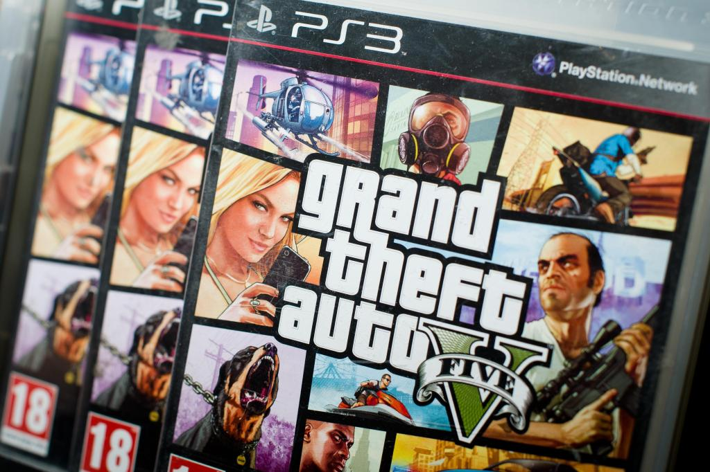 BRITAIN - ENTERTAINMENT - COMPUTING - GTA5