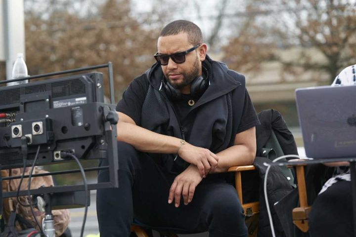 Director X on set